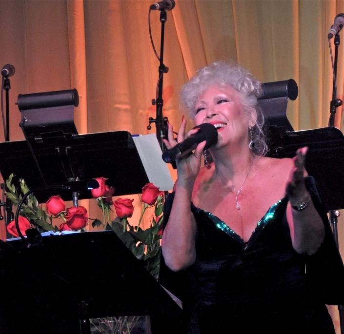 June Garber Performing